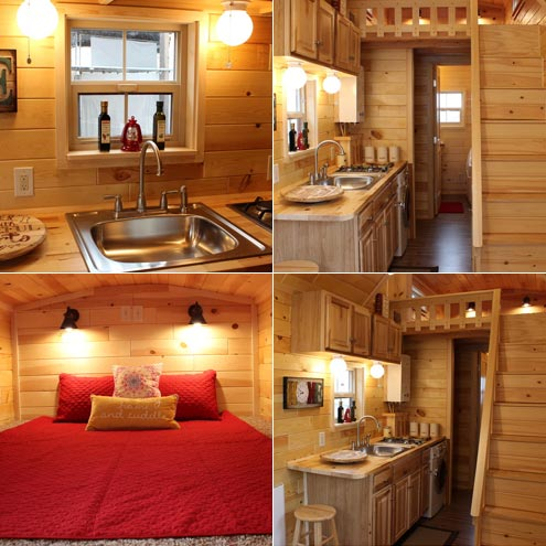 Tiny houses are a great way to reduce stress for Houses inside and out