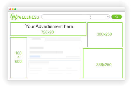 Advertise on Wellness.com Ads Placement
